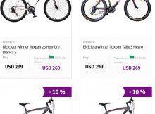 bicicletas motociclo precios