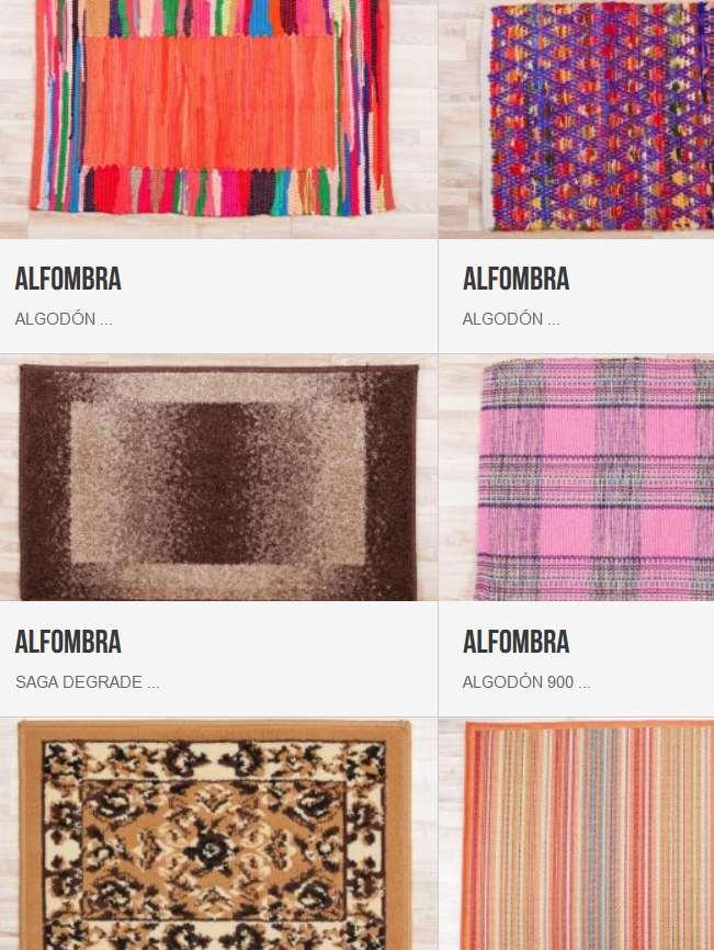 alfombras y felpudos en tienda montevideo ofertas 2017