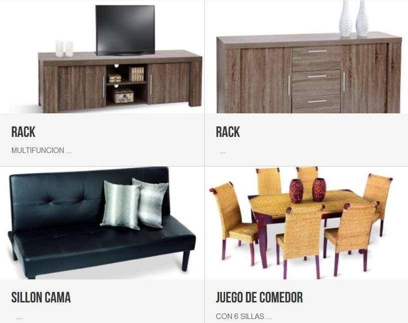 muebles interior y exterior