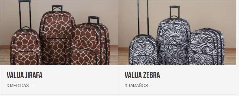 valijas de leopardo precios