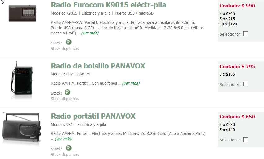 radios carlos gutierrez