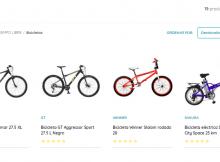 Catálogo GEANT de Bicicletas