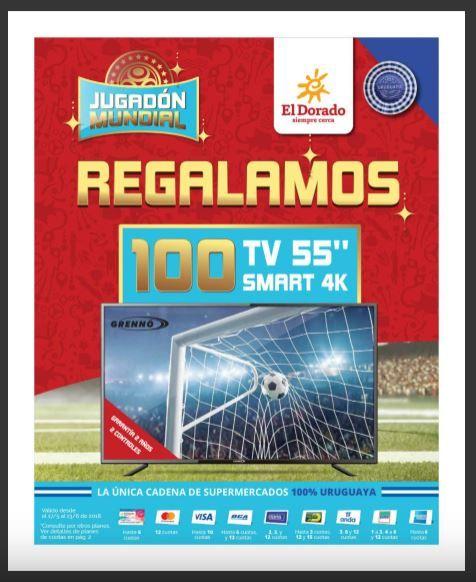 el dorado promo mundial futbol tv regalo