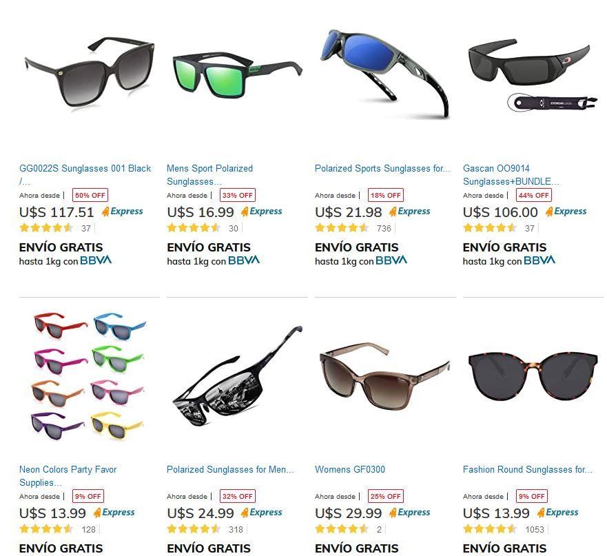 lentes oscuros en tienda mía