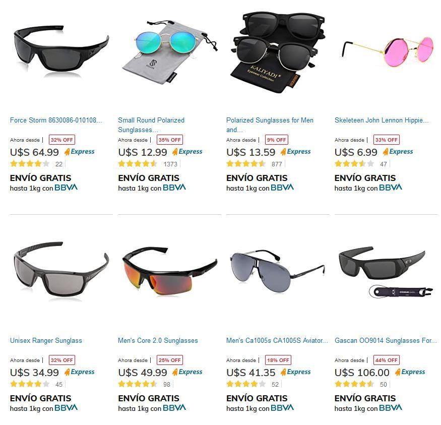 promoción de lente de sol tienda mía verano
