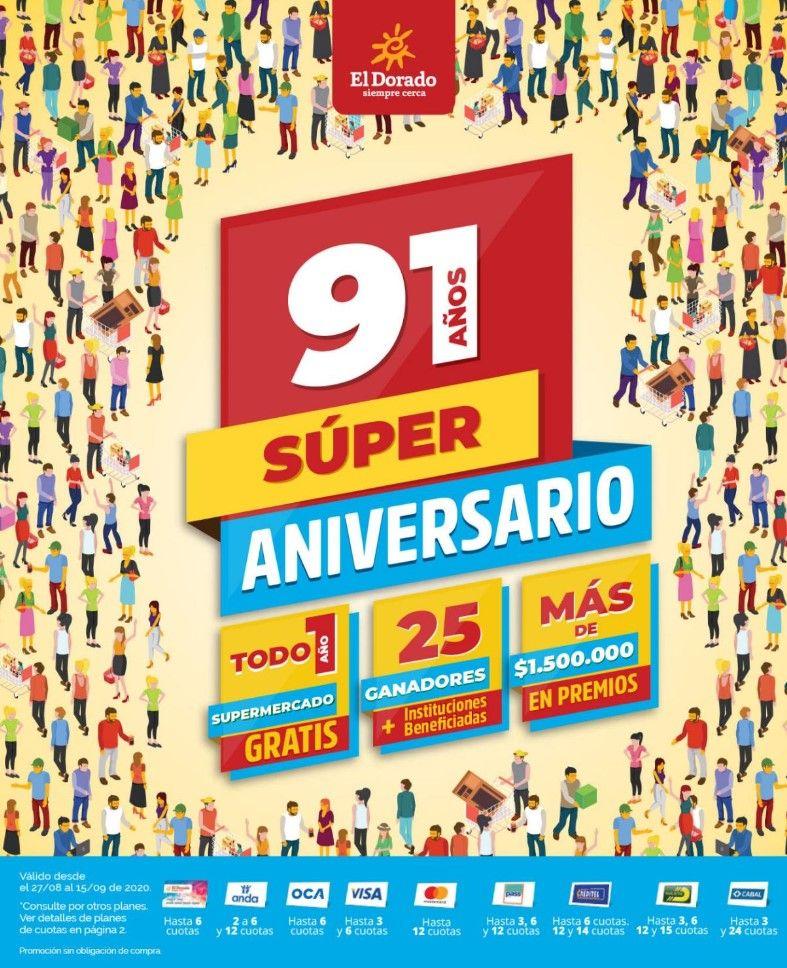 91 años super aniversario