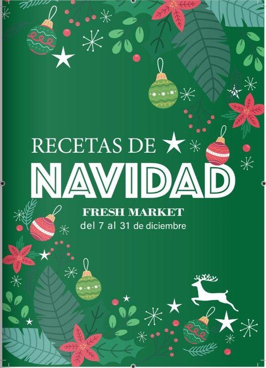 recetas de navidad fresh market